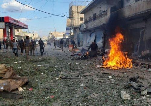 Tel Abyad'da bombalı saldırı: 13 sivil hayatını kaybetti...