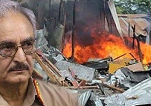 Libya'da Hafter güçlerinin saldırılarında 41 kişi hayatını kaybetti...