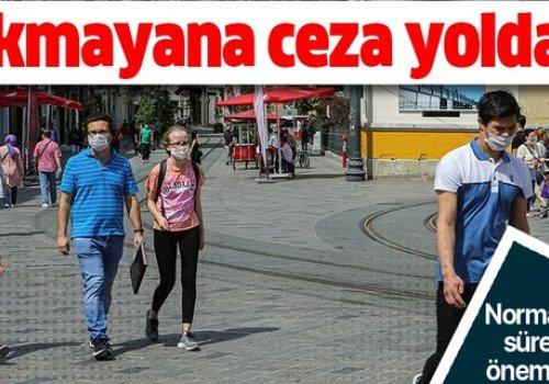 48 İLDE MASKE TAKMAK ZORUNLU,PARA VE HAPİS CEZASI VAR...