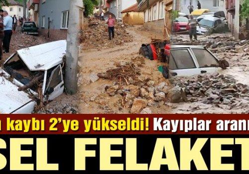 BURSA'DA SEL FELAKETİ...