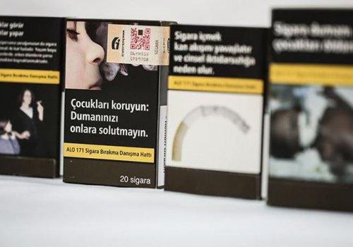 Sigara paketlerine yeni düzenleme geldi...