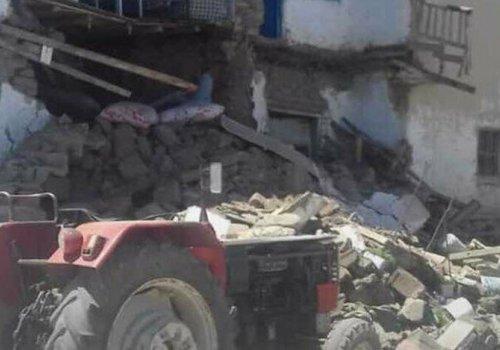 Van'da 5.4 büyüklüğünde deprem...