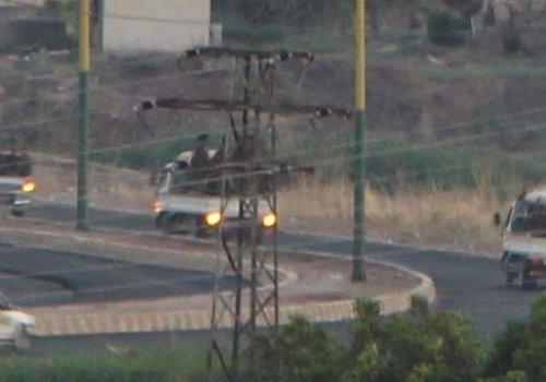 YPG'Lİ 50 TERÖRİST BURNUMUZUN DİBİNDEN GEÇİP GİTTİ...