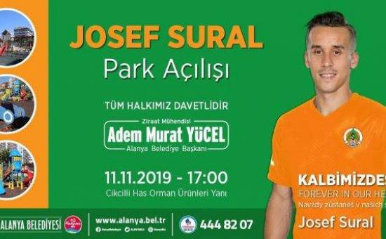 Josef Sural Parkı'nı Bakan Çavuşoğlu açacak...