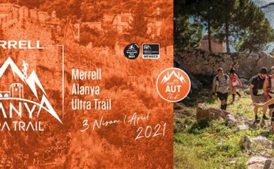MERRELL ALANYA ULTRA TRAIL 2021 BAŞLIYOR...