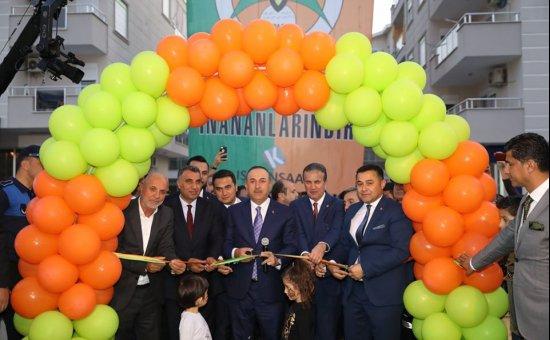 Josef Sural parkı Dışişleri Bakanı Çavuşoğlu'nun katılımıyla açıldı...