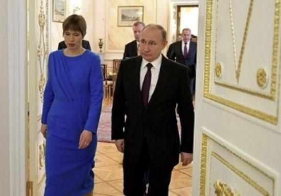 Президент Эстонии заявила об «углублении отношений» с Путиным...