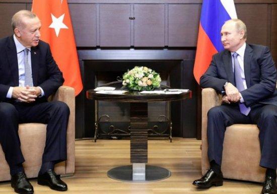 Путин и Эрдоган подписали «судьбоносный» меморандум по Сирии...